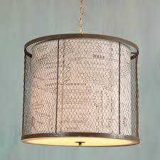 Lovely Wire Mesh Drum Light s Electrical and Wiring Diagram