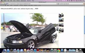 100 Craigslist Cars And Trucks For Sale Houston Tx Used Wwwmadisontourcompanycom