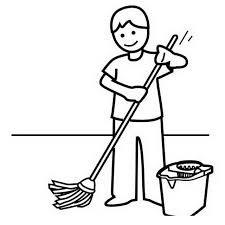 640x640 Best Photos Of Mop Coloring Page