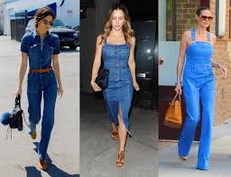 Now Trending Sexy 70s Inspired Denim Overalls And Dresses That