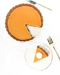 Pumpkin Pie With Gingersnap Crust Gluten Free by Butternut Squash Tart With Gingersnap Crust And Maple Coconut