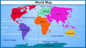 Blank World Map With Equator And Tropics Best Photos Of Continents