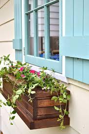 DIY Window Box Planters