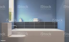 sauber und frisch badezimmer mit tageslicht 3drendering stockfoto und mehr bilder antippen