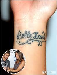 Nicole Andersons Wrist Tattoo