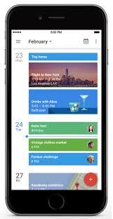 G Suite Updates Blog Google Calendar app for iPhone