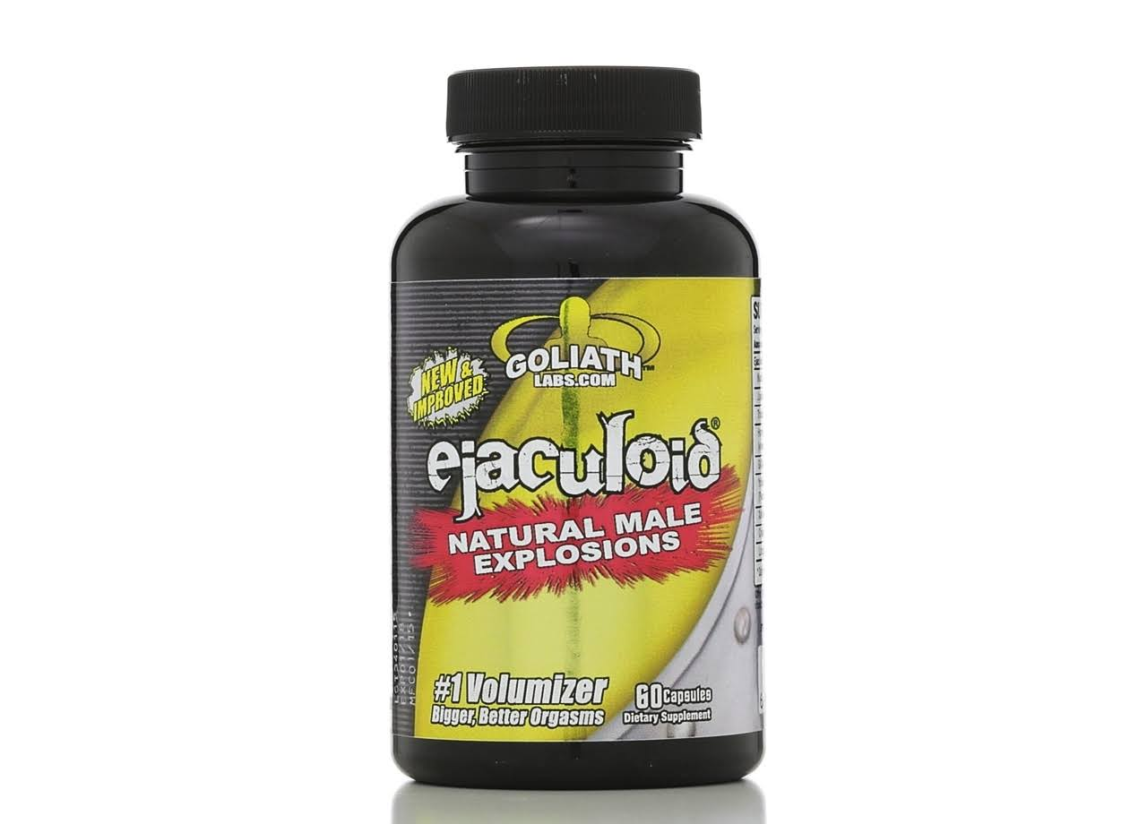 Goliath Labs Ejaculoid, Capsules - 60 count