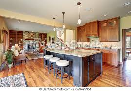 luxuriöse küche mit bar stil insel luxusküche mit bar stil