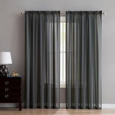 Bed Bath And Beyond Gray Sheer Curtains by Buy Grey Sheer Curtains From Bed Bath U0026 Beyond