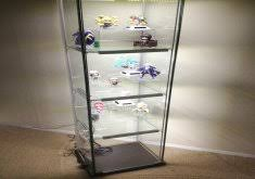 Detolf Glass Door Cabinet White by Ikea Glass Display Case Art Display Coffee Table Glass Walnut