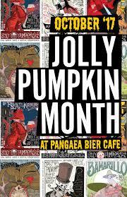 Jolly Pumpkin Menu by Pangaea Bier Cafe