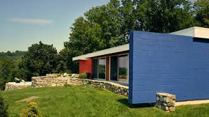 100 Cantilever Homes A Marcel Breuer House On The Hudson Is Restored To Modern Magic