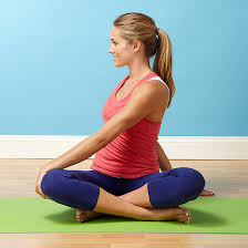 Fertility Yoga How To Do A Seated Twist Pose