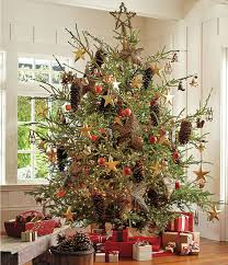 Rustic Artificial Christmas Tree Ideas