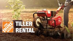 Tiller Rental - The Home Depot - YouTube