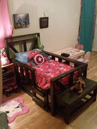 Bedroom How To Make A Pallet Bed Frame Pallet Frames Skid