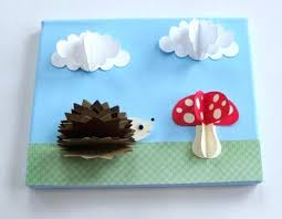 Furniture Paper Craft For Kids Room Wall Decorating Ideas Colorful Decoration With Diy Decor Crafts Unique