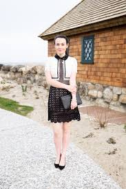 candide u0027 short sleeve black and white lace dress u2013 goodnight macaroon