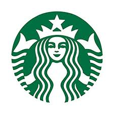 Set Of 2 Big Starbucks Coffee Logo Vinyl Cutting Sticker Decal Only