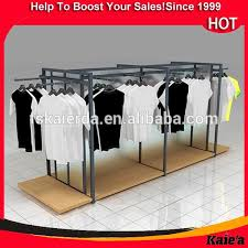 Shop Portable T Shirt Floor Display Stand Racks