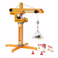 Hape Kitchen Set Canada by Hape Playscapes Toddler Kids Wooden Toy Construction Site Crane