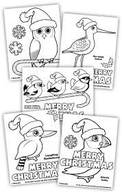 Birdorable Christmas Coloring Pages
