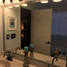 Blue Mosaic Bathroom Mirror by Best 25 Mosaic Tile Bathrooms Ideas On Pinterest Glass Mosaic