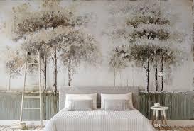großhandel 3d stereoskopische tapete baum wald schlafzimmer wohnzimmer dekoration tapete für wände 3d papel de parede yedandan 8 93 auf