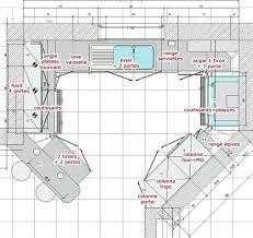 faire un plan de cuisine faire un plan de cuisine dessin maison 3d gratuit charmant logiciel