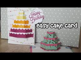 einfache kuchenkarte und meine lieblingsstanzschablone cake pop up v burniston easy cake card