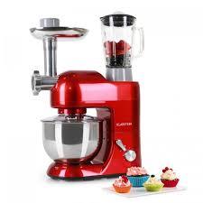 mixeur de cuisine lucia rossa de cuisine pétrin mixeur hachoir 1200w 5l