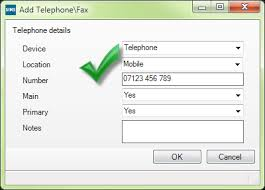 valid phone number where are contact details taken from in sims groupcall support