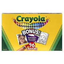 Crayola Bathtub Crayons Refill by Crayola 96 Count Crayons With Built In Sharpener Toys
