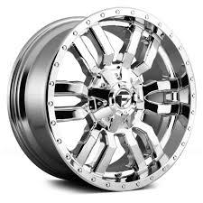 100 Wheels For Trucks 20 FUEL OFFROAD D631 SLEDGE Full Chrome 20x10 Wheel SET 20INCH RIMS
