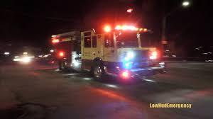 100 Mt Kisco Truck Mount FD Engine 105 Rescue 31 Responding YouTube