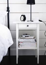 hemnes ablagetisch weiß gebeizt 46x35 cm ikea