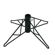 Green Metal Christmas Tree Stand For 12x27 15x27 Artificial