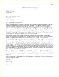 Example A Graduate School Letter Intent Milviamaglione