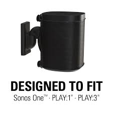 Sonos Ceiling Speaker Recommendation by Adjustable Wall Mount Fitting Sonos One Play 1 Play 3 And Other