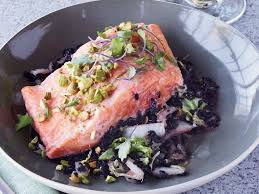Napa Pumpkin Patch Hours by Arctic Char Black Rice And Napa Cabbage En Papillote Recipe