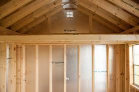 12x16 Storage Shed With Loft Plans by 10x12 Vinyl Cottage Storage Shed Byler Barns