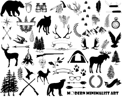 Wilderness Clipart Vintage Camping 2