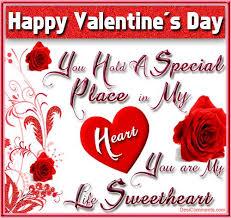 Happy Valentines Day My Sweetheart Valentine s Day