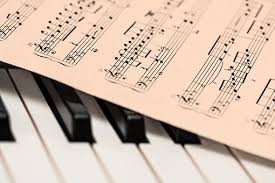 Piano Music Score Sheet