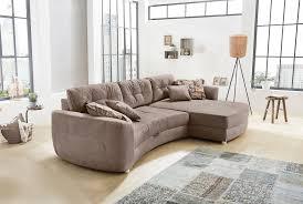 naumburger moebel wohnzimmer sofa braun naumburger