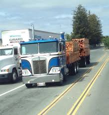 A True California Truck N Trailer | Lumber And Log Trucks ...