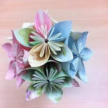 Eclations Papercraft Etc My First How To Video Kusudama Paper Flower Tutorial