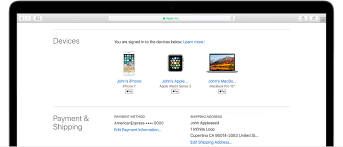 Check your Apple ID device list to see where you re signed in