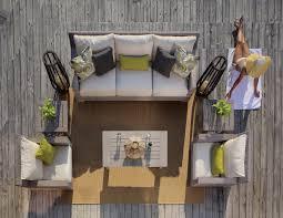 Portofino Patio Furniture Replacement Cushions by Club Woven Modern Patio Furniture Summer Classics Luxury