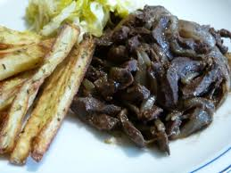 cuisiner coeur de boeuf coeur de veau aux oignons la cuisine de cathy